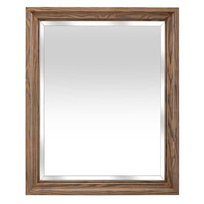 Weathered Oak Bathroom Mirrors Bath, Weathered Oak Bathroom Vanity Mirror