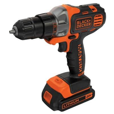 20-Volt MAX Lithium-Ion Cordless Matrix Drill/Driver with Battery 1.5Ah and Charger