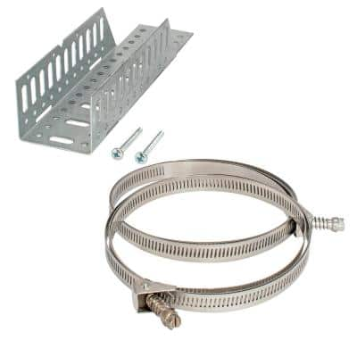Universal Stainless Steel Water Heater Expansion Tank Mounting Bracket