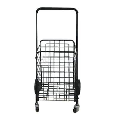 19 in. Rolling Shopping Cart