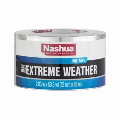 2.83 in. x 50 yd. 330X Extreme Weather HVAC Foil Duct Tape