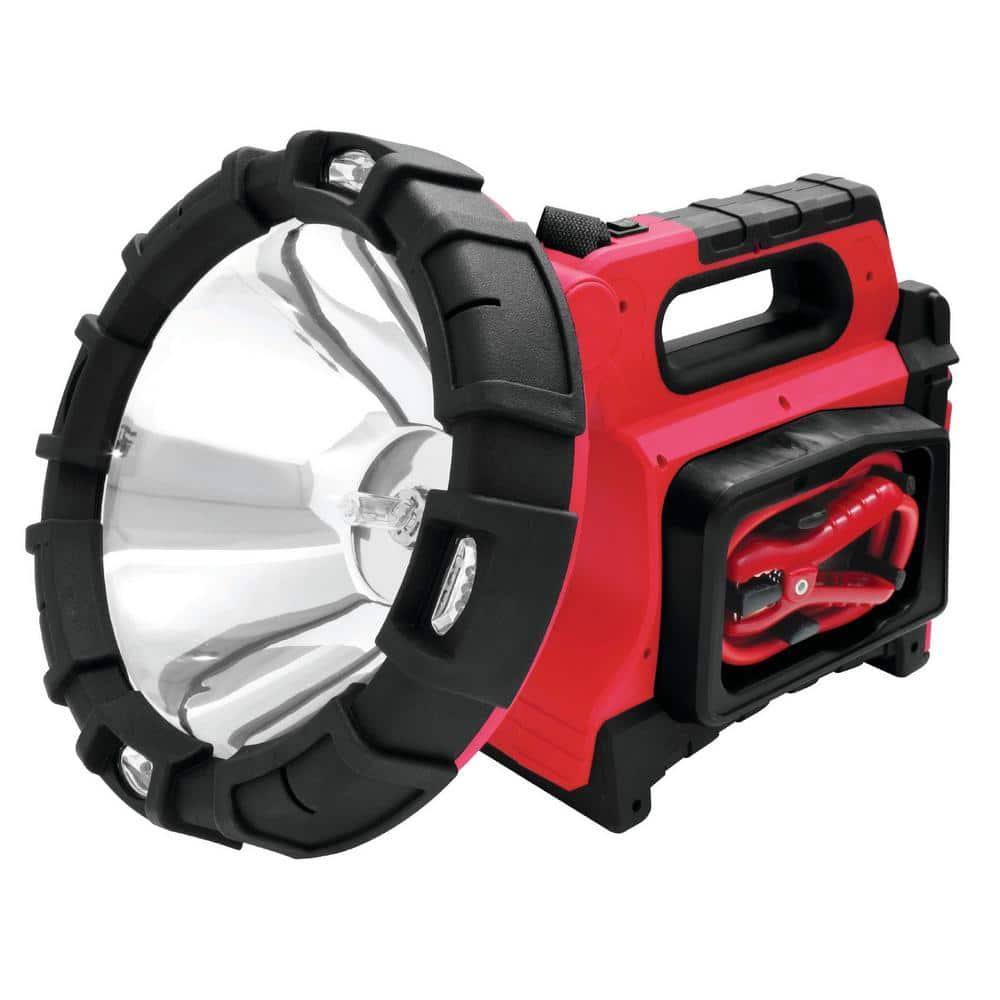 120-Watt 5-in-1 Rechargeable Jumpstart Spotlight