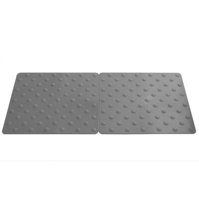 Novogrip Access Grey 16-1/2 in. x 18 in. TPU Accessibility Mat
