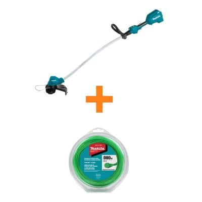18-Volt LXT Cordless Li-Ion BL Curved Shaft String Trimmer (Tool-Only) with Bonus 0.080 in. x 175 ft. Trimmer Line