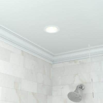 6 in. White Recessed Can Lighting Housings and Trims (6-Pack)
