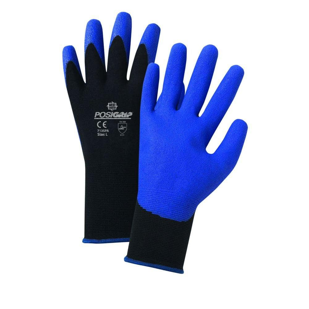 West Chester Air Injected Pvc Palm Nylon Dozen Pair Gloves Extra Large 713spa Xl The Home Depot