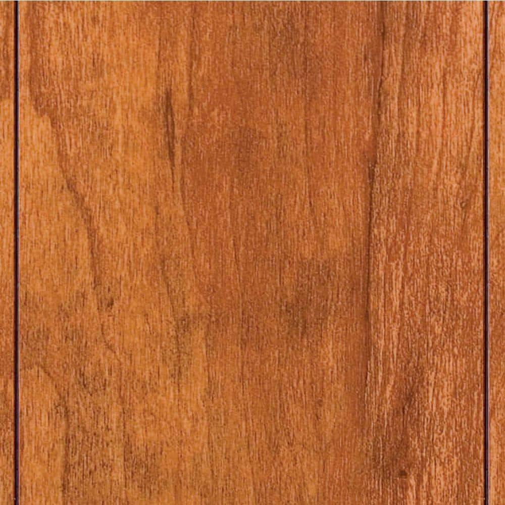 High Gloss Pacific Cherry 8 Mm, Hampton Bay Laminate Wood Flooring