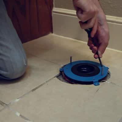 HydroSeat Toilet Flange Repair