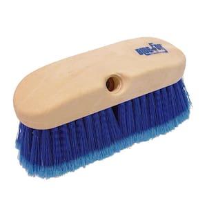 10 in. Blue Flagged Styrene Truck Wash Brush