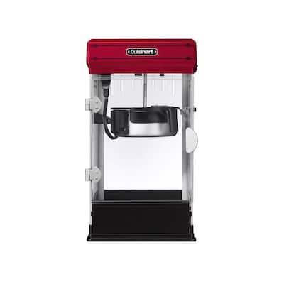800 W 80 oz. Red Popcorn Maker