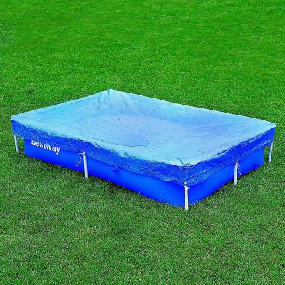 Flowclear 7 ft. 4 in. x 60 in. Rectangle Floating Above Ground Swimming Pool Leaf Cover