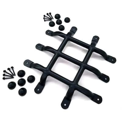 OWT (Ornamental Wood Ties) 13 in. Bulk Galvanized Steel Gate Accent - Speak Easy