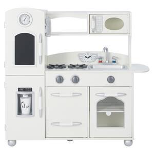 Little Chef Westchester Retro Play Kitchen in White