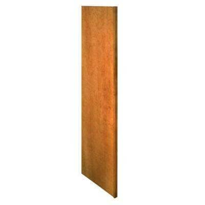 Hargrove Assembled 3 in. x 96 in. x 24 in. Refrigerator End Panel in Cinnamon