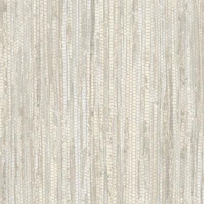 Beige and Khaki Rough Grass Wallpaper