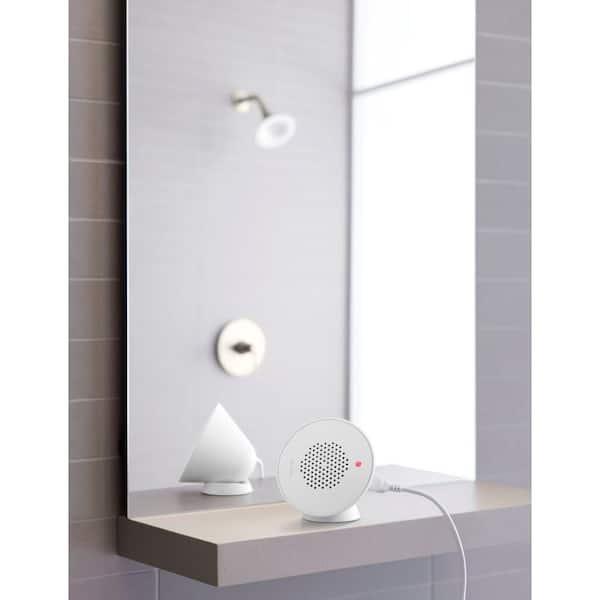 KOHLER - Moxie 5 in. Single Function Showerhead with Bluetooth Speaker in Brushed Nickel