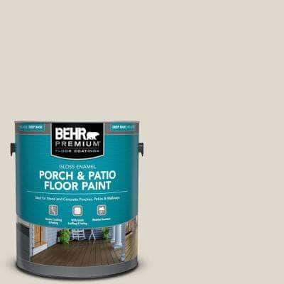 1 gal. #PFC-72 White Cloud Gloss Enamel Interior/Exterior Porch and Patio Floor Paint