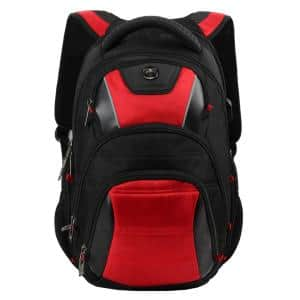 Cypress Anit-Baterial 16.1 in. Backpack with USB Charging Port and RFID Protection