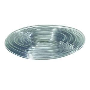 1-5/8 in. O.D. x 1-1/4 in. I.D. x 24 in. Clear PVC Vinyl Tube