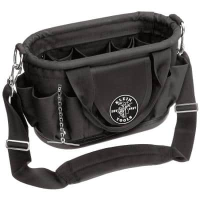 15-1/2 in. Hard Body Tool Tote with 17 Pockets