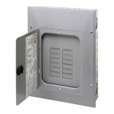 BR 200 Amp 12-Space 24-Circuit Indoor Main Lug with Combination Cover