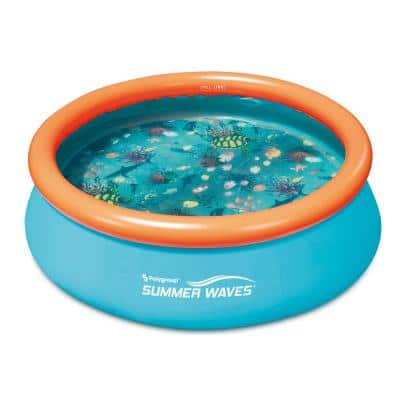 Plastic Pools Outdoors The Home Depot