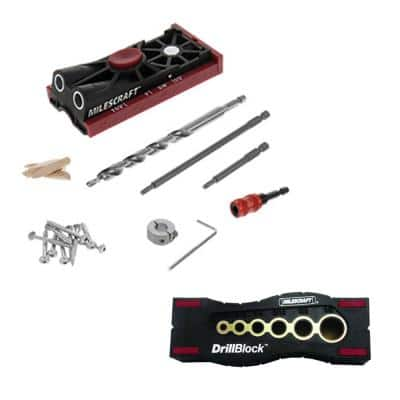 PocketJig 200 and Drill Block Combo (2-Piece)