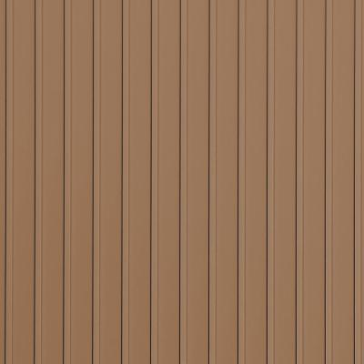 Rib 10 ft. x 24 ft. Sandstone Vinyl Garage Flooring Cover and Protector