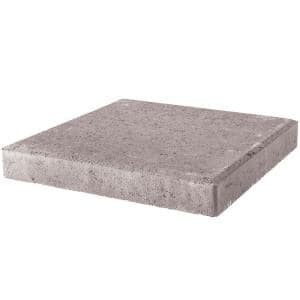 24 in. x 24 in. x 2 in. Pewter Square Concrete Step Stone
