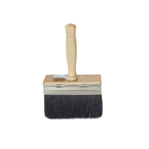 Bon Tool 6 In X 2 In White Wash Brush With Black Bristle 34 179 The Home Depot