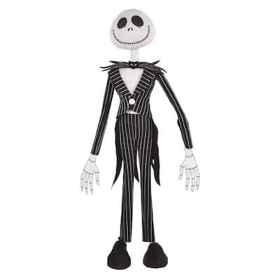 36 in. Disney Tim Burton Halloween The Nightmare Before Christmas Jack Skellington Standing Prop