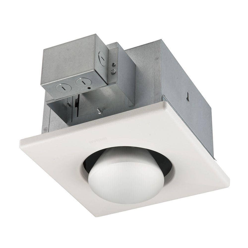 Broan Nutone 250 Watt Infrared 1 Bulb, Bathroom Heat Light