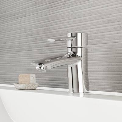 Bova Single-Handle Single Hole Bathroom Faucet in Chrome