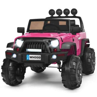 13 in. 3-Year to 7-Years Old Ride On Truck Car