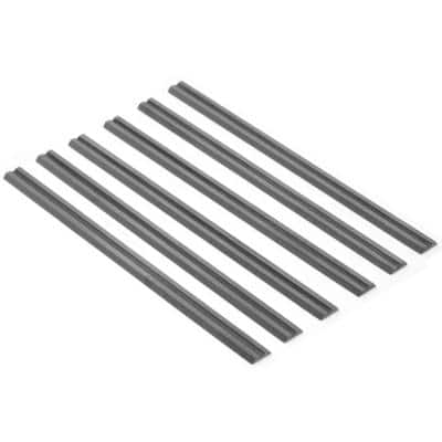 3-1/4 in. Tungsten Carbide-Tipped Replacement Planer Blades, (6-Pack)