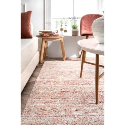 Sunniva Moroccan Pink 5 ft. x 8 ft. Area Rug