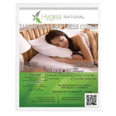 Bed Bug, Luxurious Plush Fabric, and Waterproof Twin Mattress Or Box Spring Cover