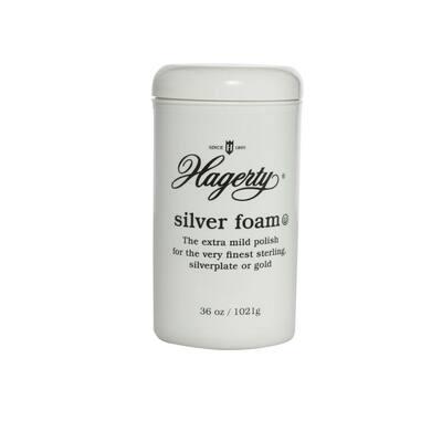 36 oz. Silver Foam