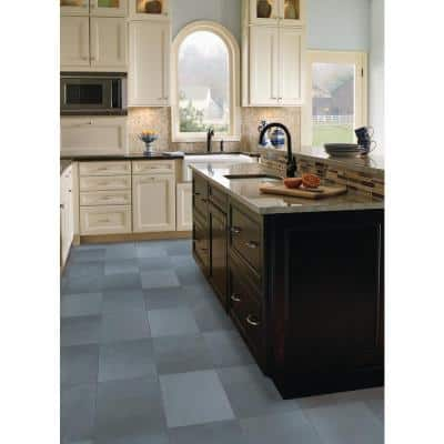 Montauk Blue 18 in. x 36 in. Gauged Slate Floor and Wall Tile (20 cases / 90 sq. ft. / pallet)