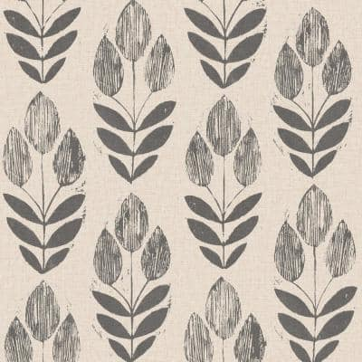 Folk Tulip Vinyl Peel & Stick Wallpaper Roll (Covers 30.75 Sq. Ft.)