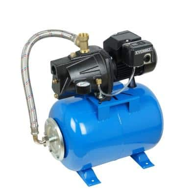 1/2 HP Shallow Well Jet Pump with 6 Gallon Tank