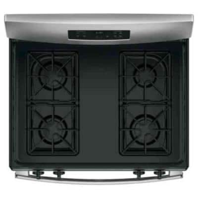 30 in. 4.8 cu.ft. Free-Standing Gas Range in Stainless Steel