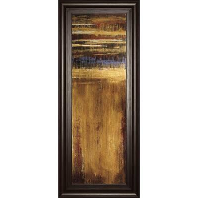 """Spring Poplars III"" by Sharon Chandler Framed Print Wall Art 18 in. x 42 in."
