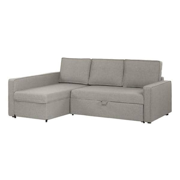 South S Live It Cozy 1 Piece Gray, Sofa Cushion Support Home Depot