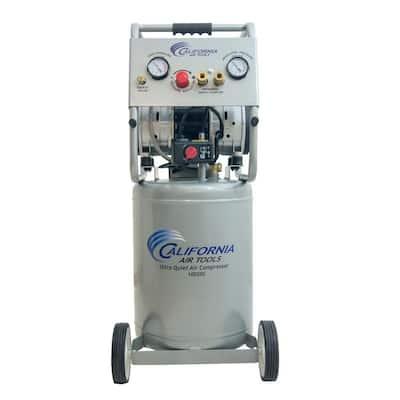 10 Gal. 2.0 HP Ultra Quiet and Oil-Free 220-Volt Electric Air Compressor