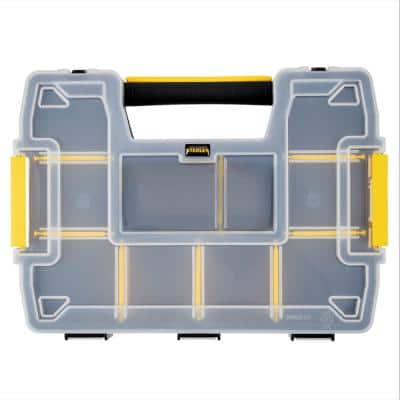SoftMaster 12-Compartment Small Parts Light Organizer