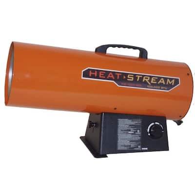 125,000 BTU Forced-Air Propane Heater
