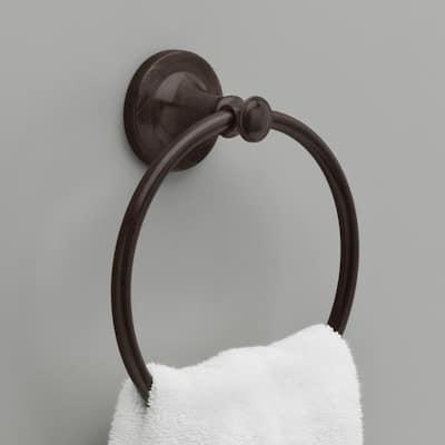 Silverton Towel Ring in Venetian Bronze