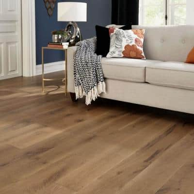 Castlebury Weathered Cottage Eurosawn Oak 3/4 in. T x 4 in. W x Random Length Solid Hardwood Flooring (16 sq. ft./case)