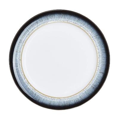 Halo Wide Rimmed Blue Dinner Plate